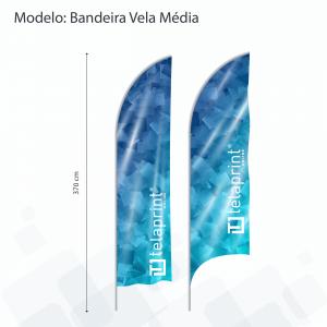 Bandeira Wing</br> Média