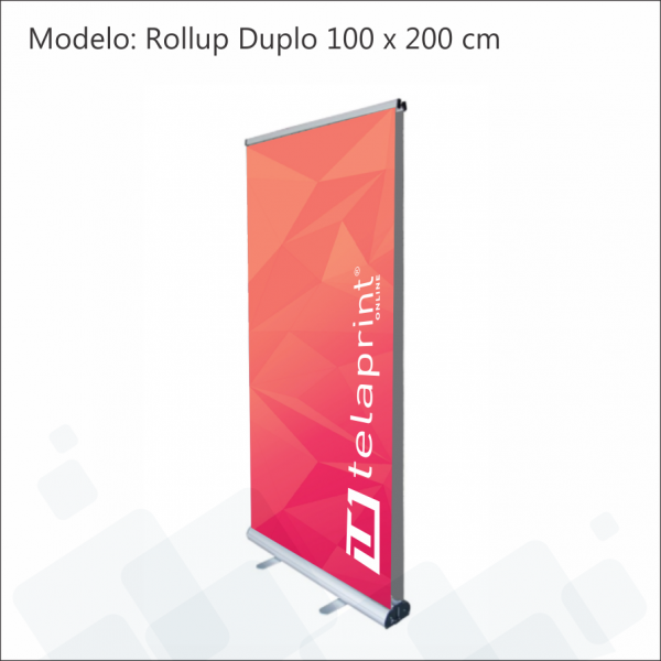 Roll up duplo 100x200