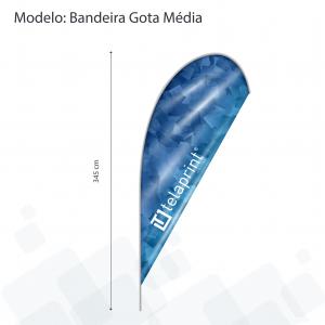 Bandeira Gota</br> Média
