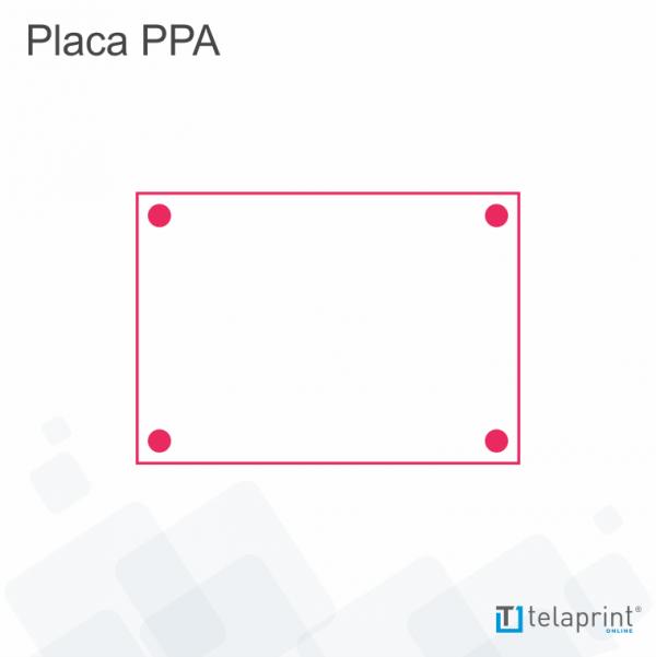 Desenho placa imobiliária PPA.